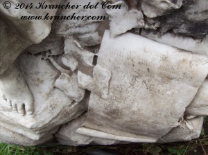 Gedenkteken vermoedelijk van Johannes Christoffel Schell, Peneleh