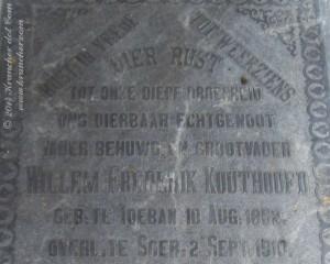 Willem Frederik Kouthoofd, B2859