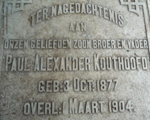 Paul Alexander Kouthoofd, B2617