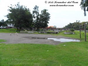 Het voetbalveld op Peneleh
