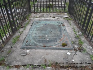 Het graf van Pieter Merkus
