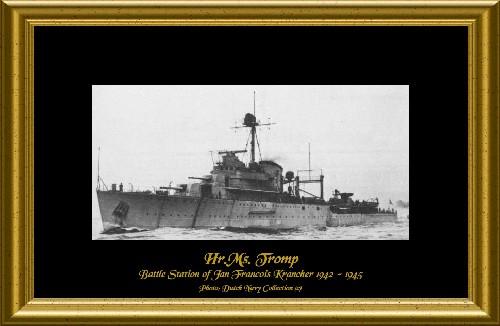 Hr. Ms. Tromp, Battle Station of Jan Francois Krancher