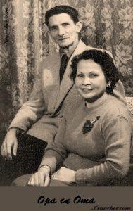 Opa en oma Kouthoofd-Sell