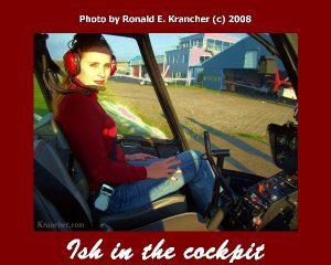 Aïsha Krancher Helicopter