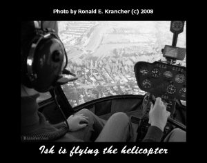 Ish Krancher Helicopter