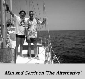 Man Sooksawee en Gerrit Bijlsma