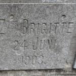 Maria Anna Agnes Gertrude Zum Gahr, Zuster Brigitte