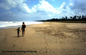 Kuta Beach 1983 - KrancherdotCom