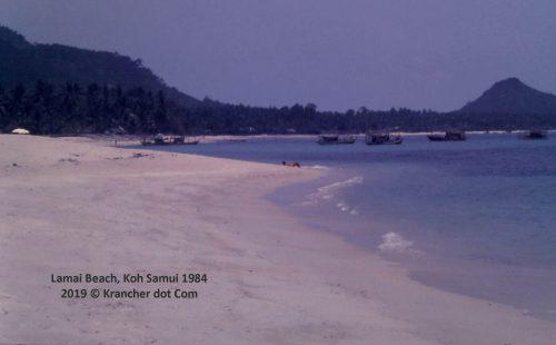 Lamai Beach<br>Koh Samui 1984