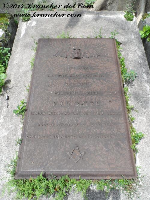 Graf van Frans Jacob Hubert Bayer