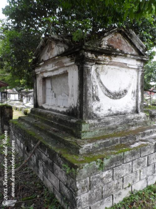 Het graf van Daniël François Willem Pietermaat - Peneleh - Surabaya