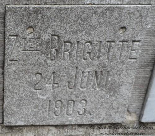 "Zuster Brigitte<br><i>Maria Anna Agnes Gertrude Zum Gahr</i> <br><span style=""font-size: xx-small"">Bron:  Register Peneleh</span>"