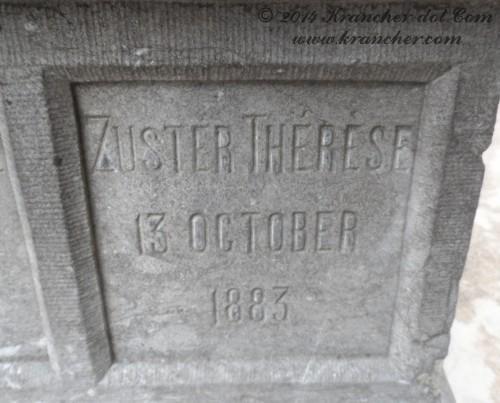 "Zuster Thérèse<br />  <i>Maria Josephina Vlaskamp</i><br />  <span style=""font-size: xx-small"">Bron: Register Peneleh</span>"