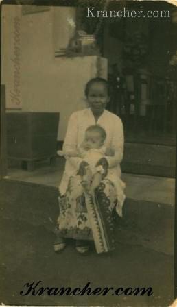 Oma Toeminah en tante Yola Kouthoofd